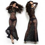 Lange kanten jurk model JULIA