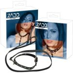 Halsband met riem, ZADO(leder)