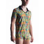 Manstore, M851 Polo shirt, rainbow