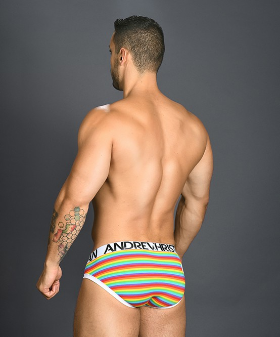 Andrew Christian Pride Stripe Brief(slip)