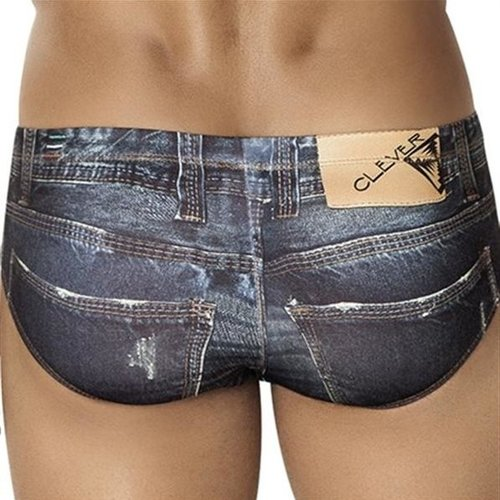 Clever, heupslip,Denim Jean Latin Brief, 5201