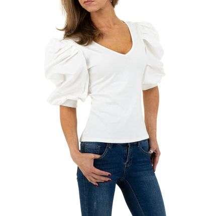 Shirt met pofmouw